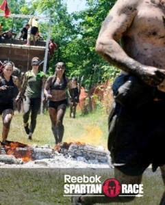 Photo: Spartan Race - June 2014 - coming up to the finish (I came 14th for women)